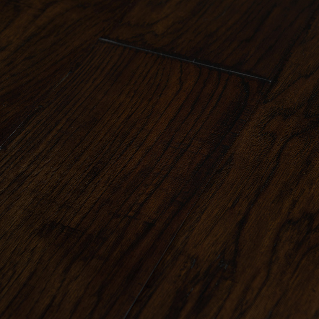 Hickory Dark Brown » Artisan Hardwood Flooring